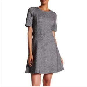 Theory 'Karline' Fit & Flare Wool Dress